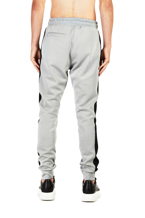 Steel Grey Track Bottoms - Balu Clothing