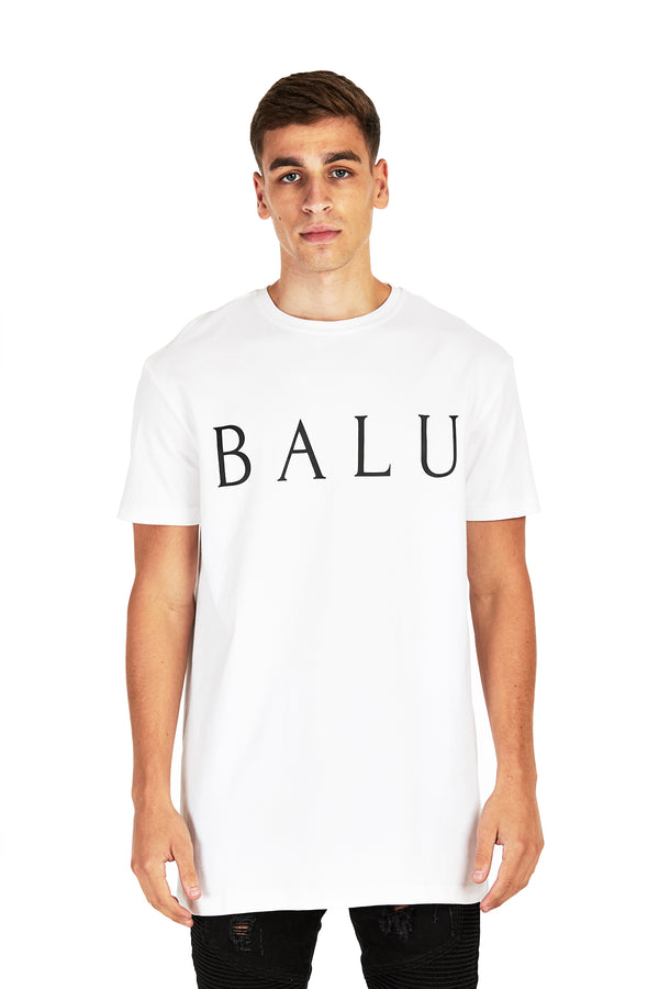 Large Logo Tee with Red Dot - Balu Clothing