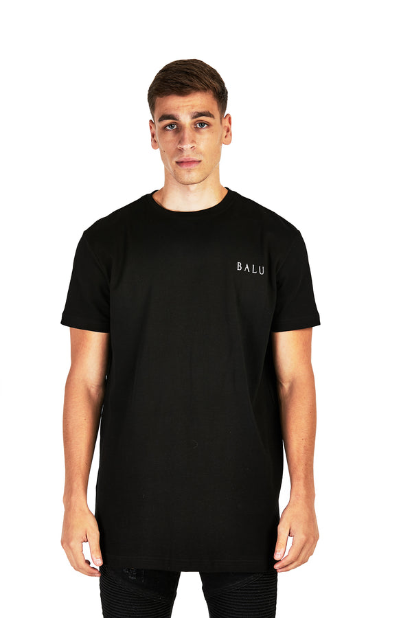 Black Essential Tee - Balu Clothing
