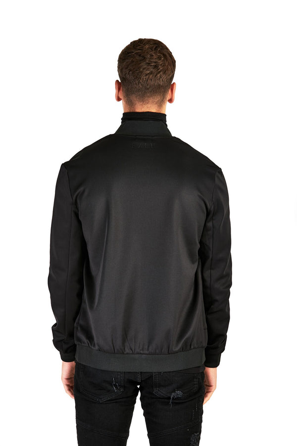 Black Smart Bomber Jacket - Balu Clothing