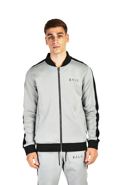Steel Grey Track Top - Balu Clothing