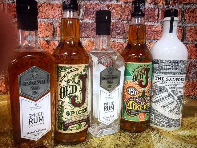 Manchester - a city of Gin drinkers, and now a real Rum lot!