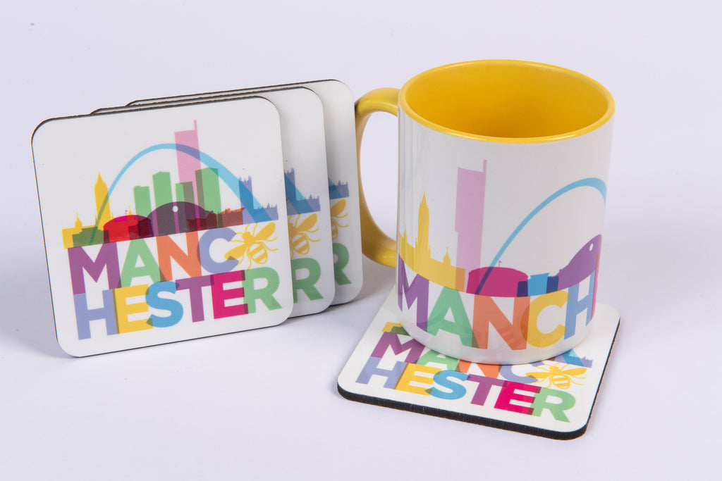 Manchester Mugs & Coasters
