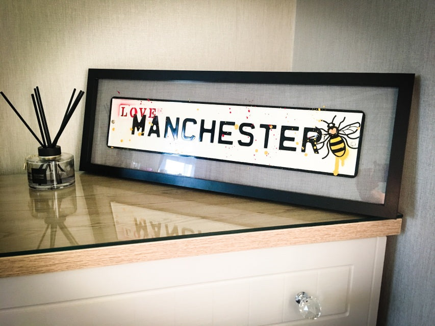 Glass Art & Street Signs