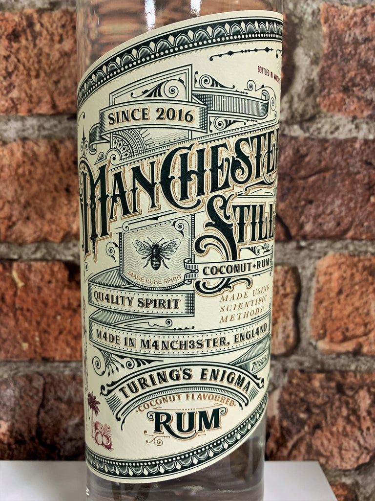 The Manchester Still - Turings Enigma Coconut Rum 70cl