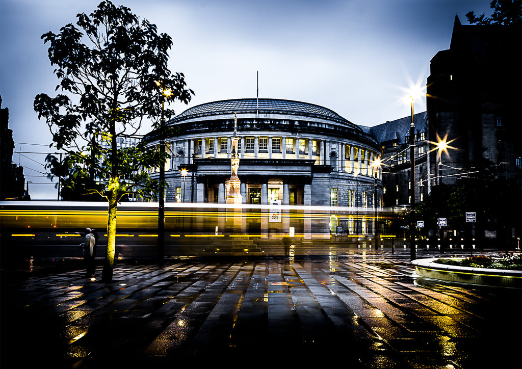 Central Library After The Rain