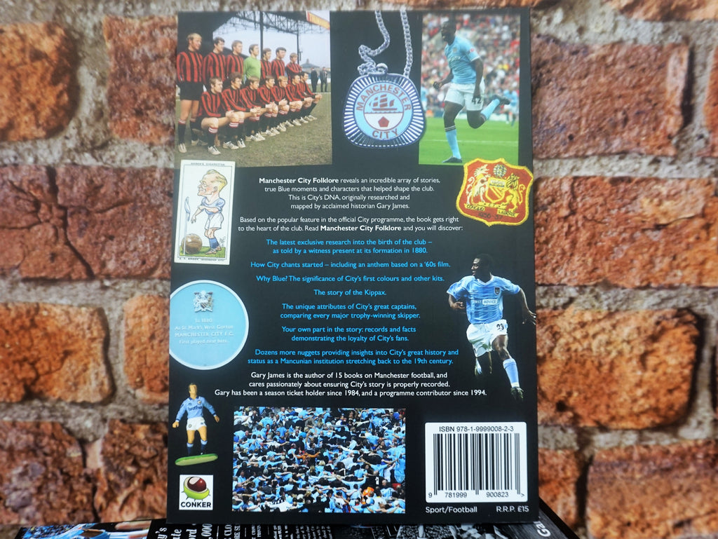Manchester City Folklore - Gary James