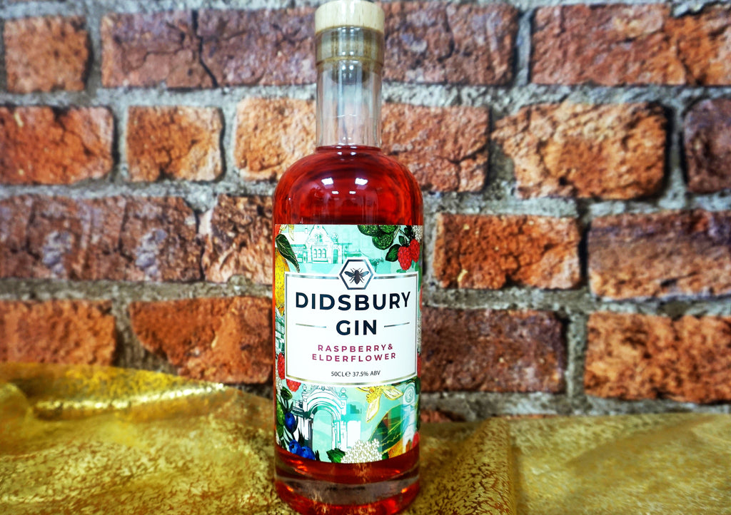 Didsbury Gin - Raspberry & Elderflower 50cl