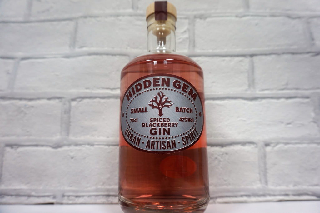 Hidden Gem Spiced Blackberry Gin 70cl