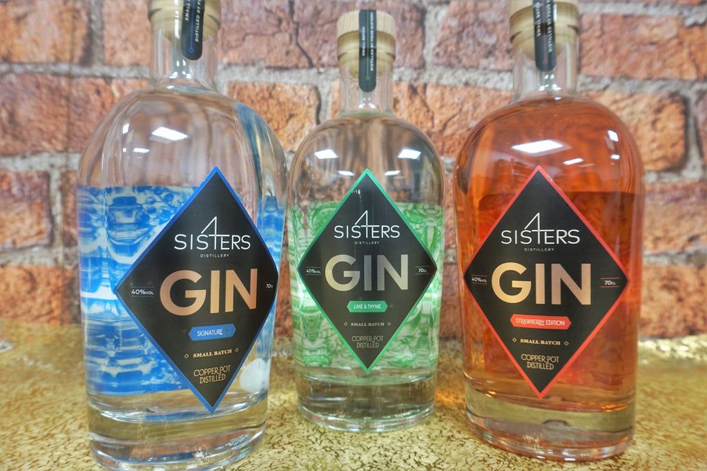 Four Sisters Gin - Lime & Thyme 70cl