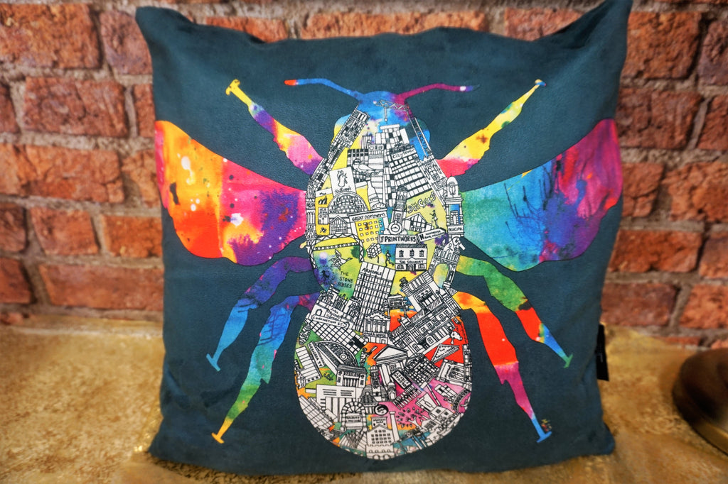 Manchester Bee - Cushion