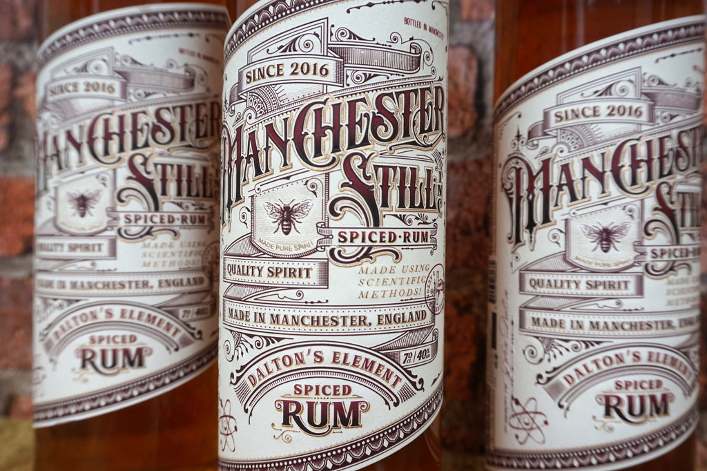 The Manchester Still - Daltons Element Spiced Rum 70cl