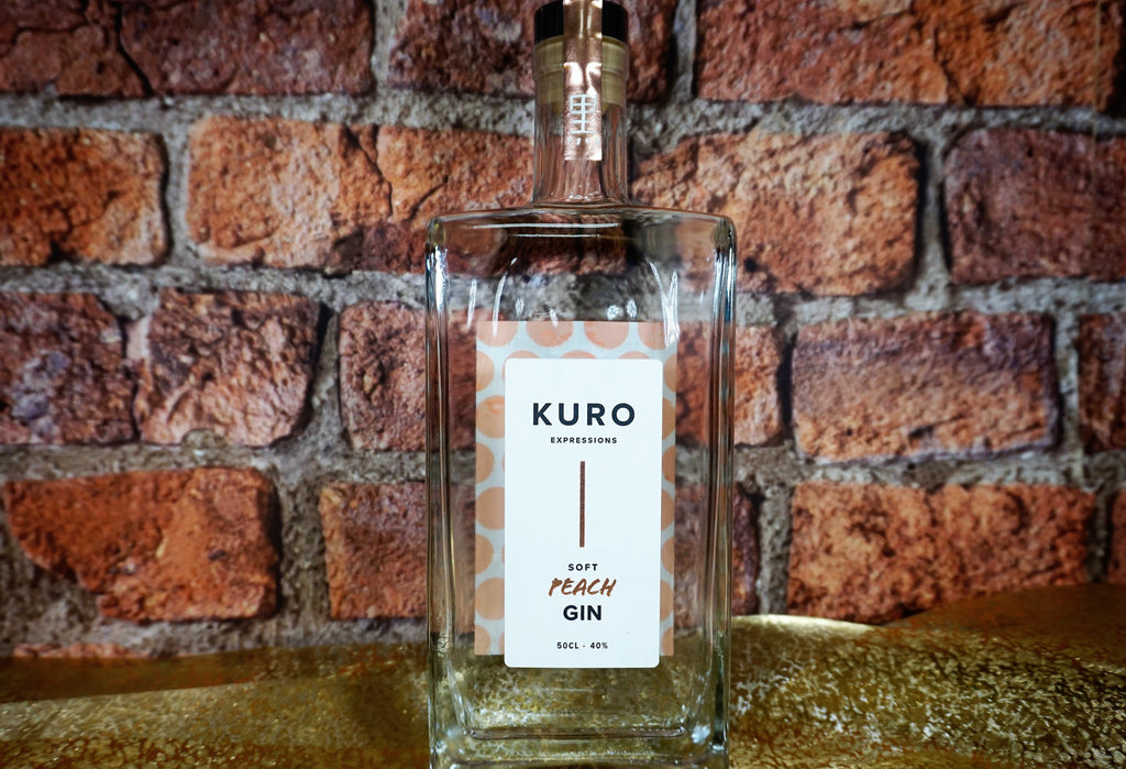 Kuro - Japanese inspired Soft Peach Gin