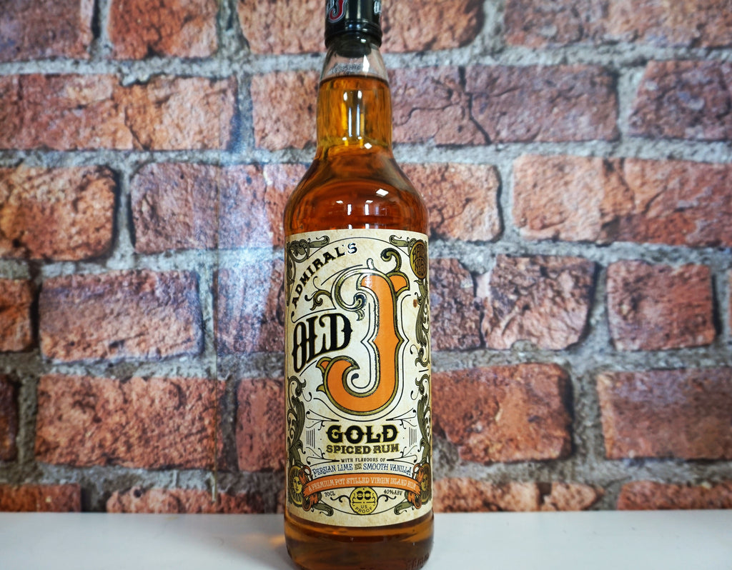 Admirals Old J Gold Spiced Rum 70cl