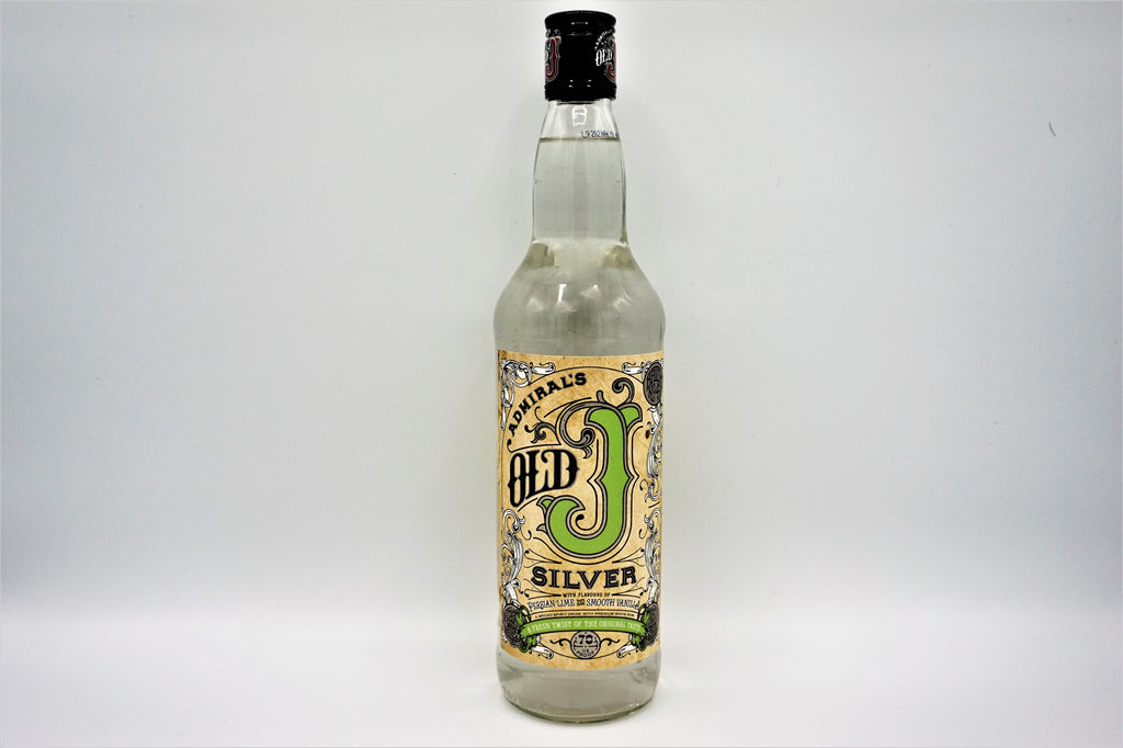 Admirals Old J Silver Spiced Rum 70cl
