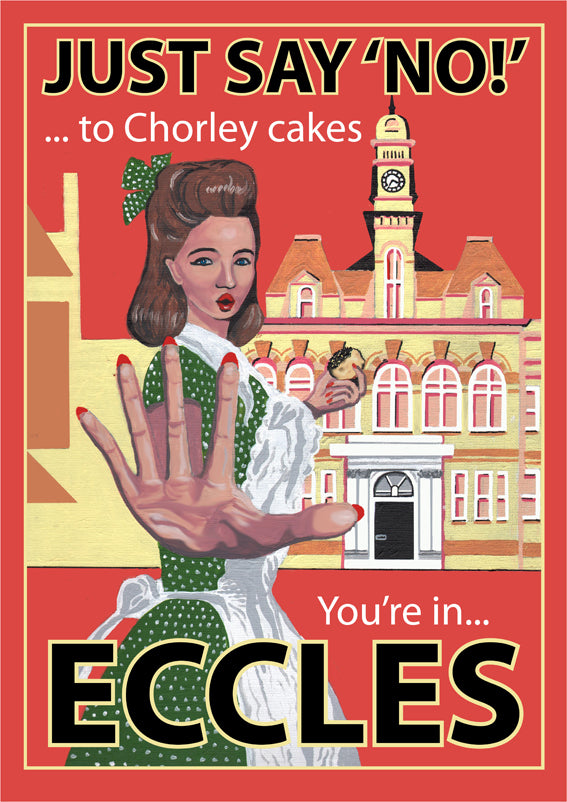Retro Poster Art - Eccles