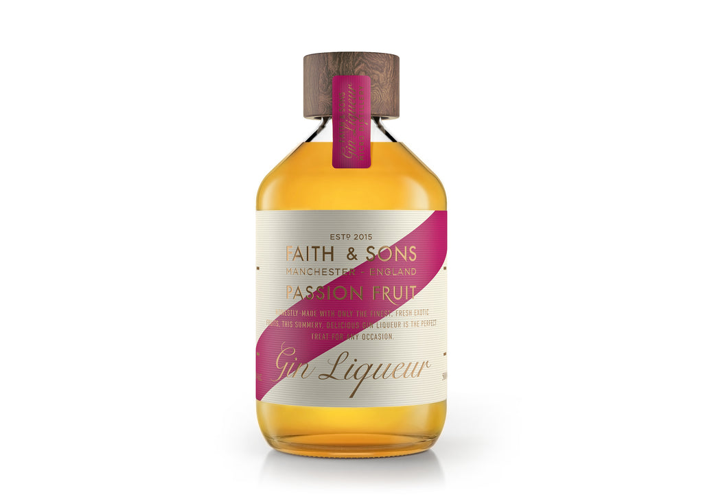 Faith & Sons Passion Fruit Gin Liqueuer