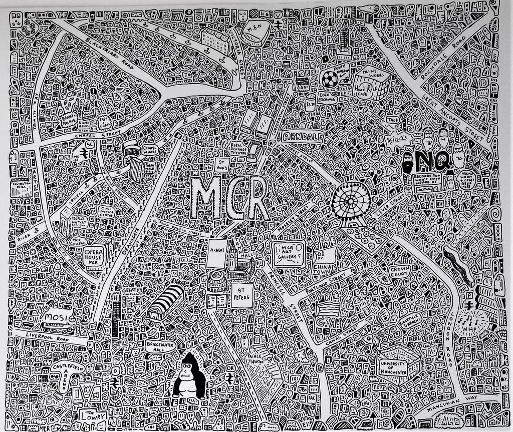 Doodle Map Manchester
