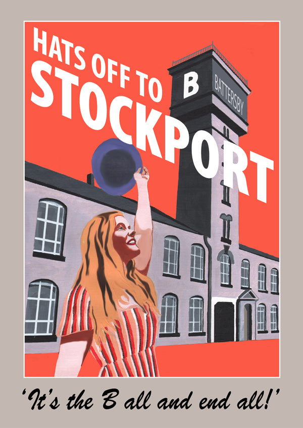 Retro Poster Art - Stockport