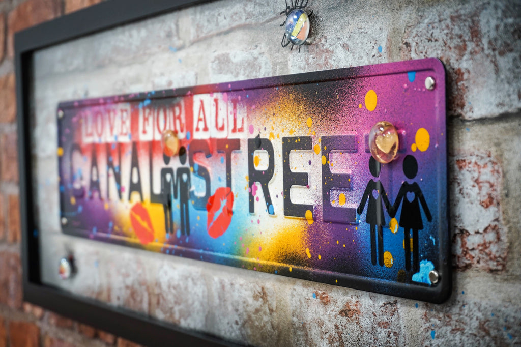 Street Sign Art - Canal Street Love For All