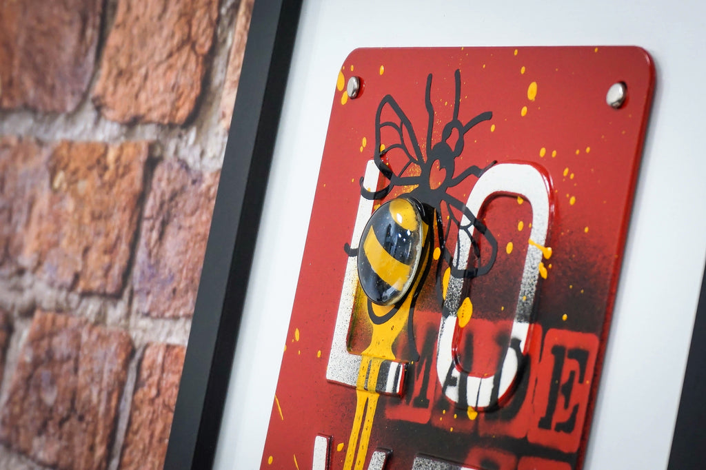 Manchester Love Glass Art - Made In Manchester