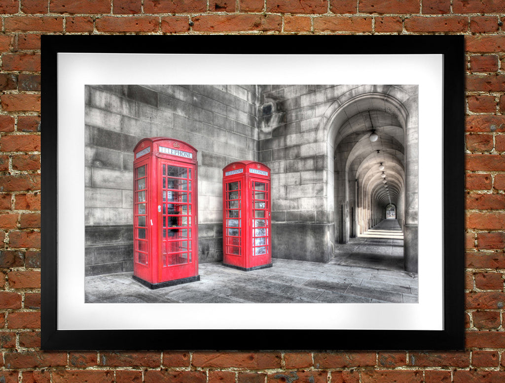 Library Arches & Telephone Box