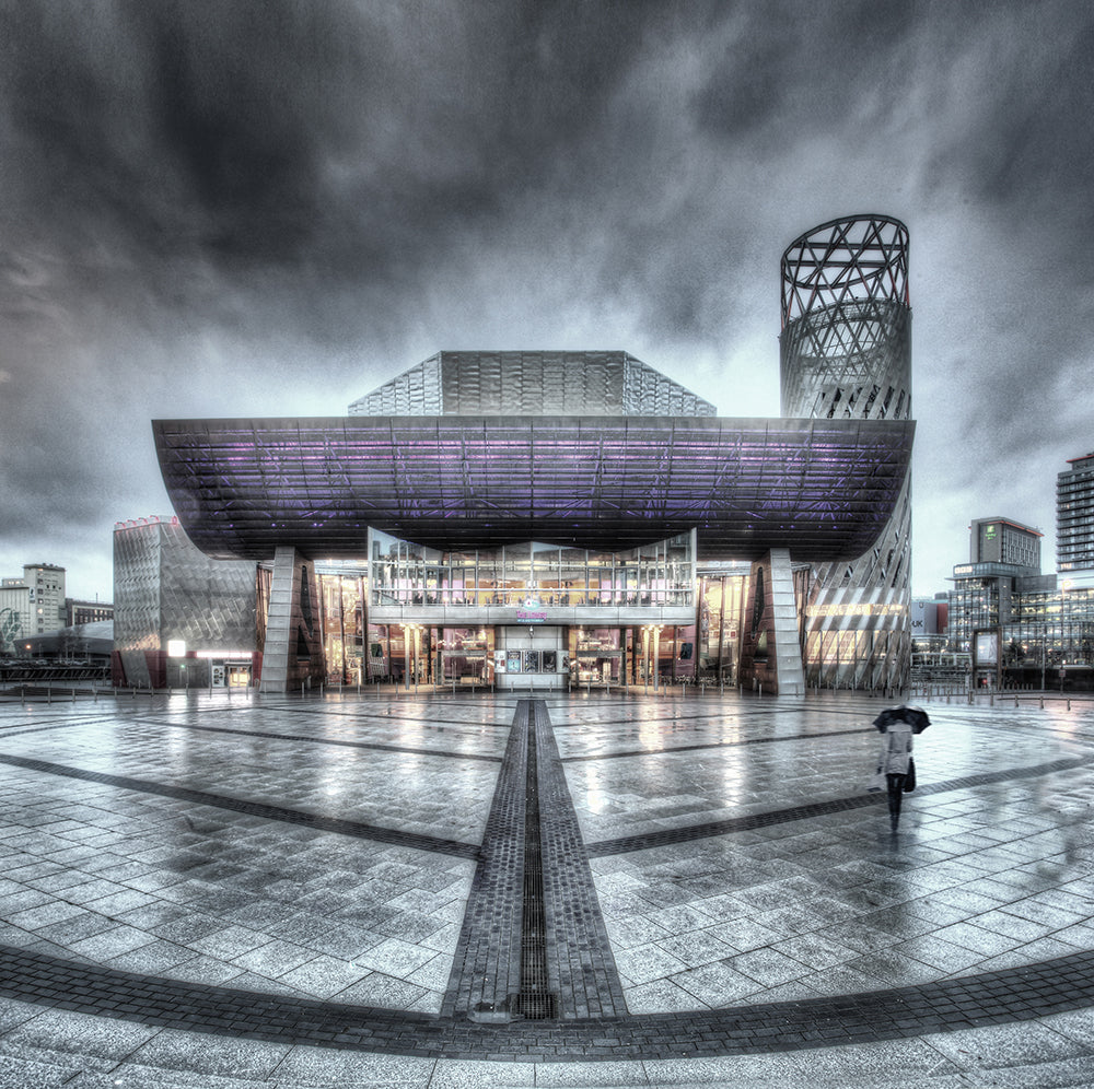 The Lowry Front View