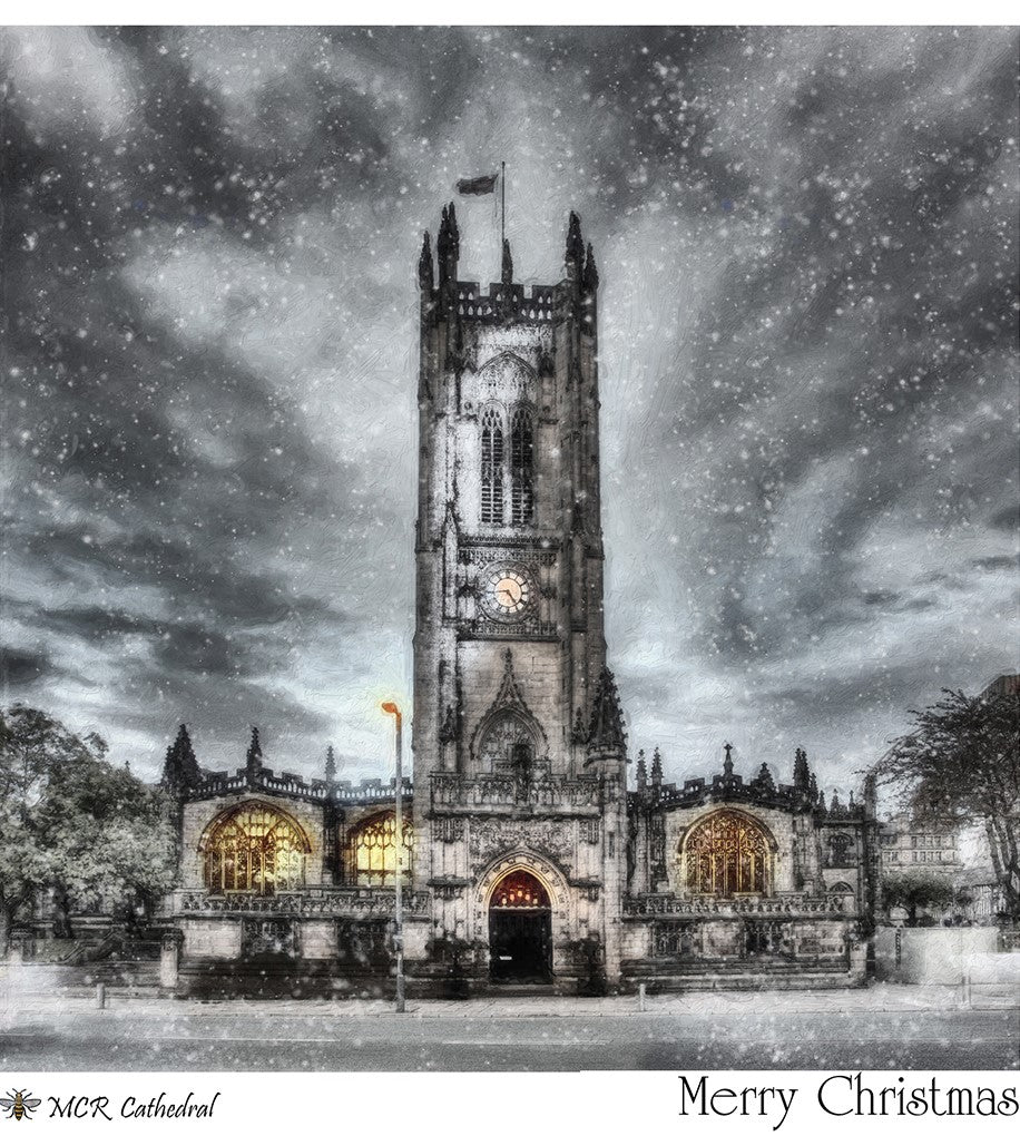 Christmas Cards - Manchester Cathedral