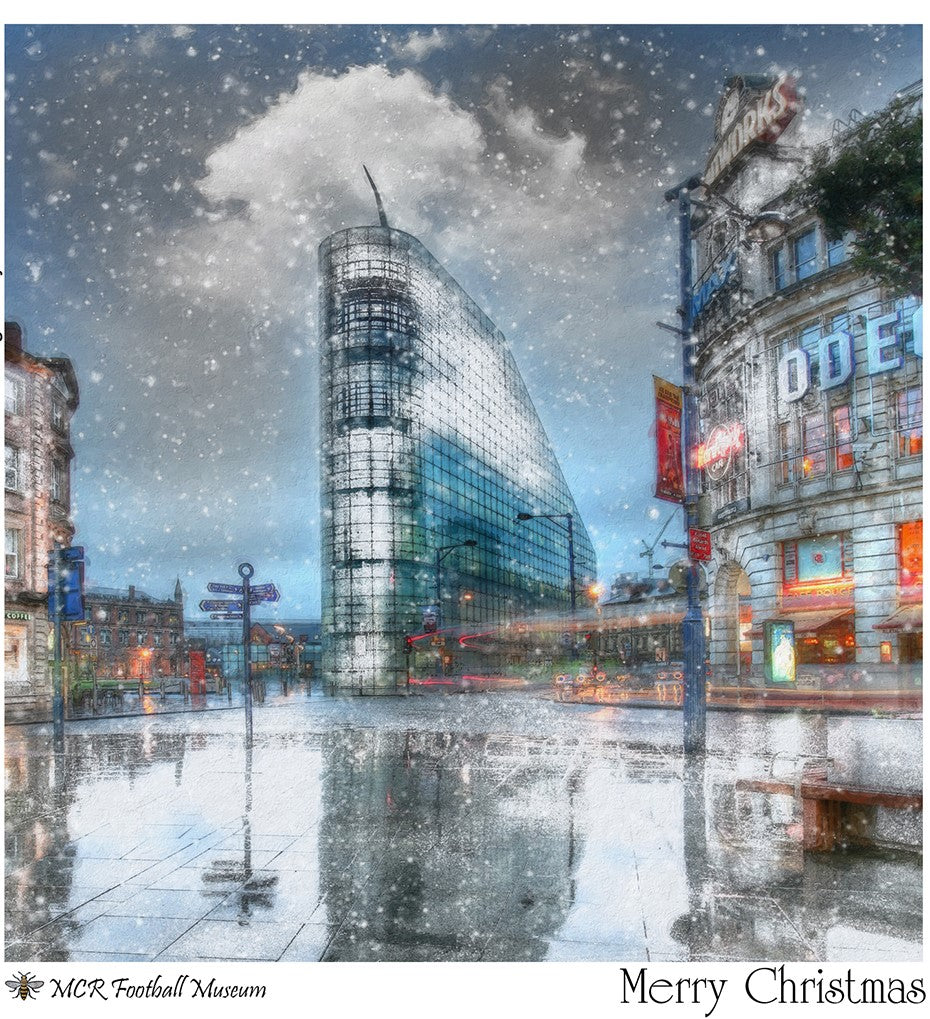 Christmas Cards -Urbis, Football Museum