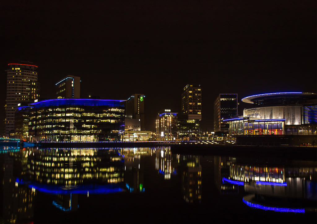 Salford Quays Reflection 1
