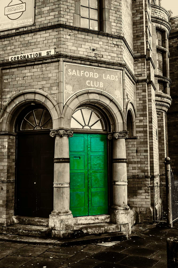 Salford Lads Club - Green Door