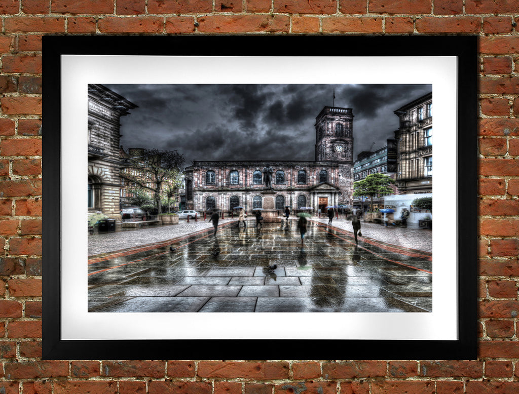 St. Anns Square & Church Manchester