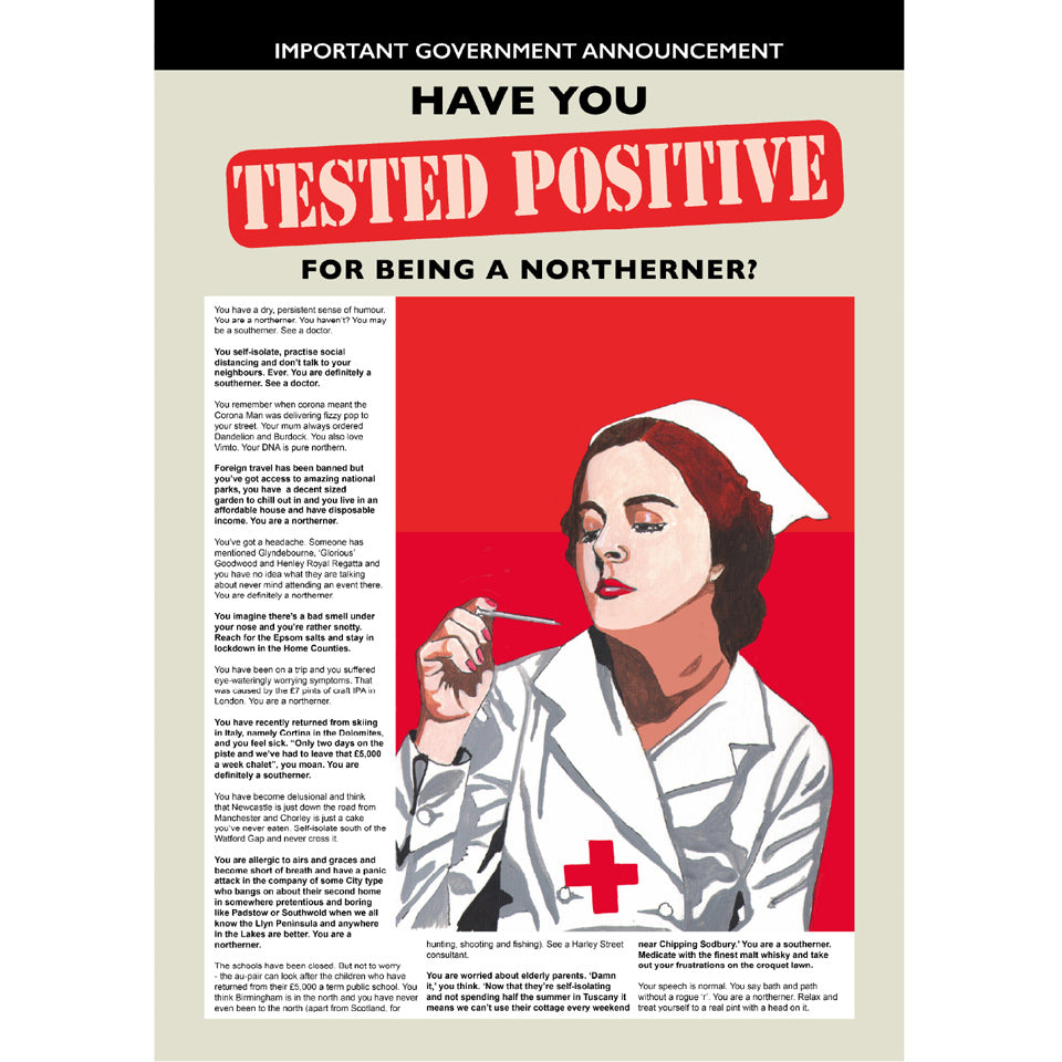 Retro Poster Art - Tested Positive