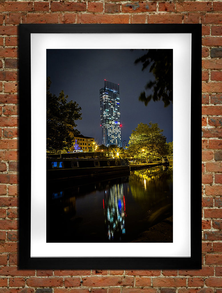 Beetham Tower Lights