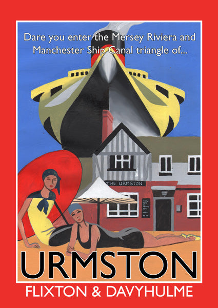 Retro Poster Art - Urmston