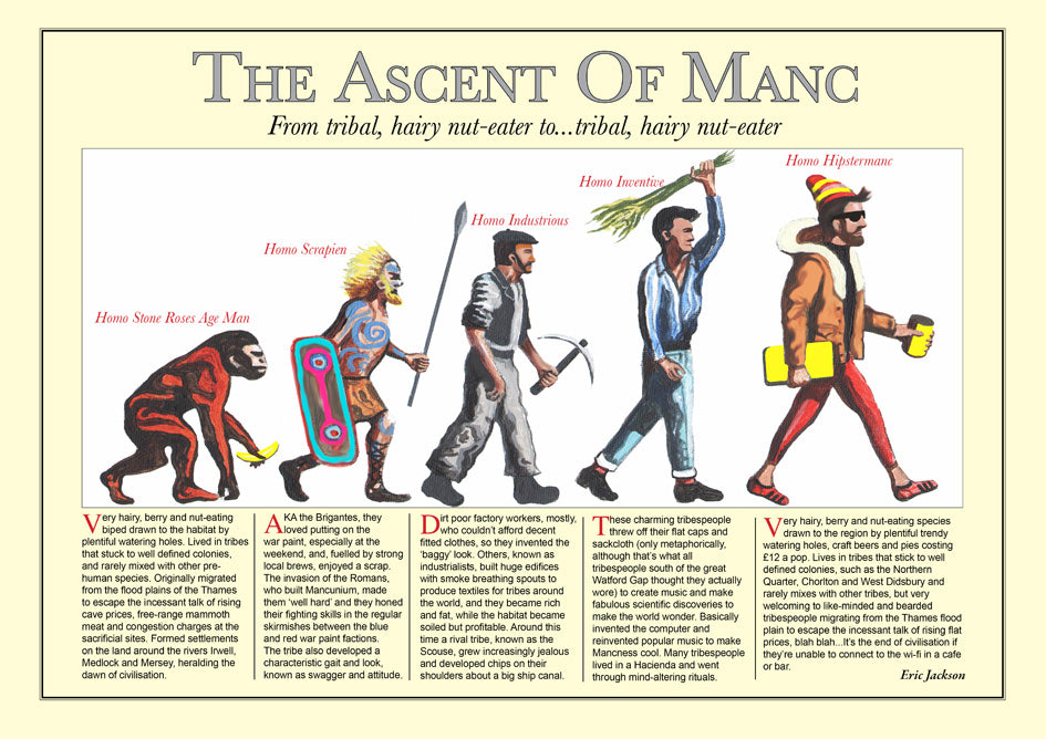 Poster Art - The Ascent of Manc