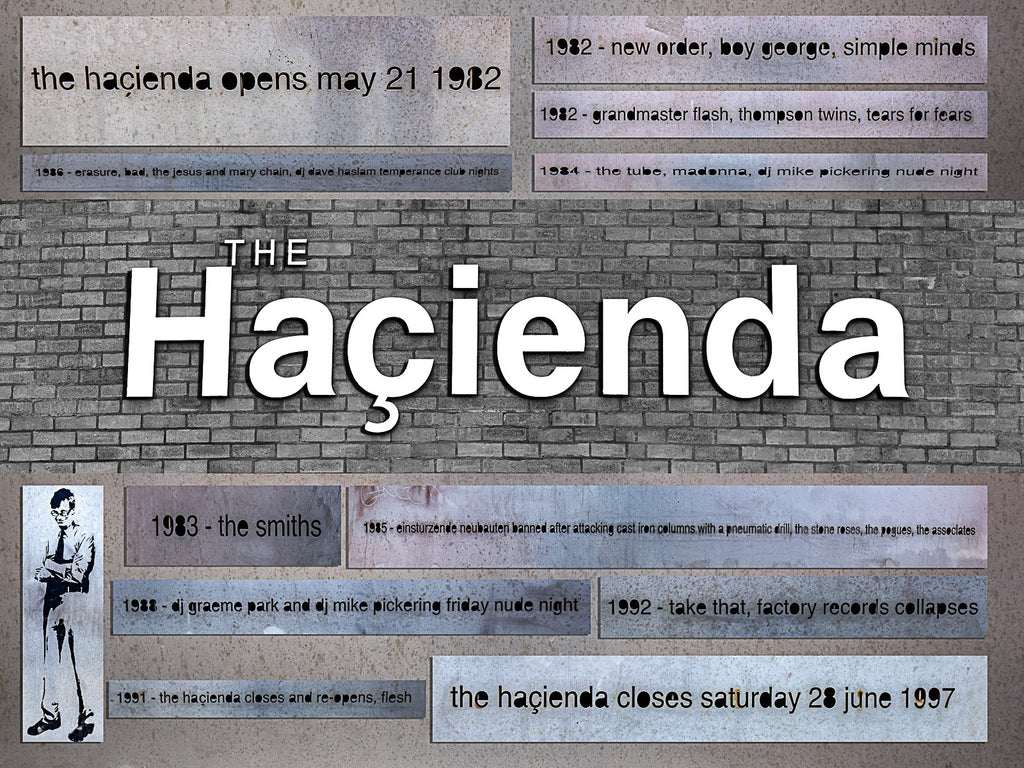 The Hacienda Collage