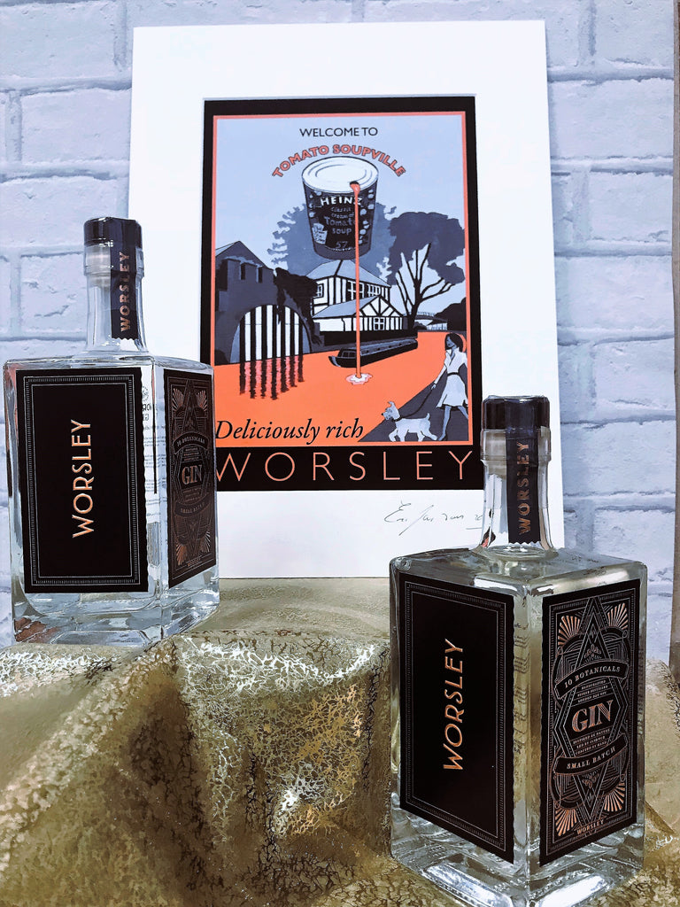 Worsley Gin - 50cl / 45% abv