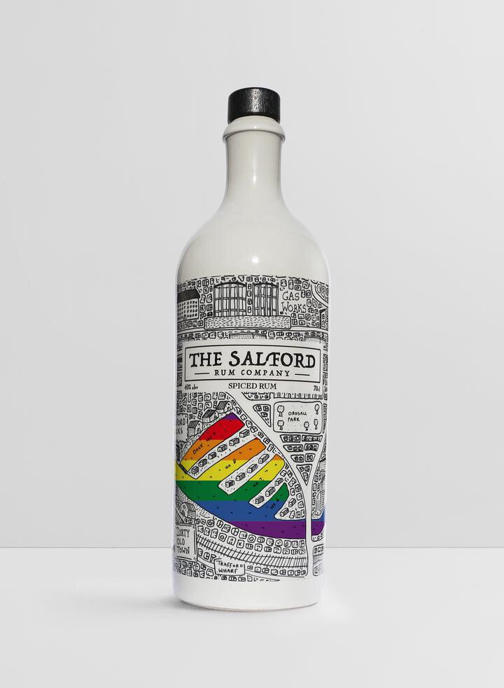 The Salford Rum Company PRIDE collectors edition  70cl Spiced Rum