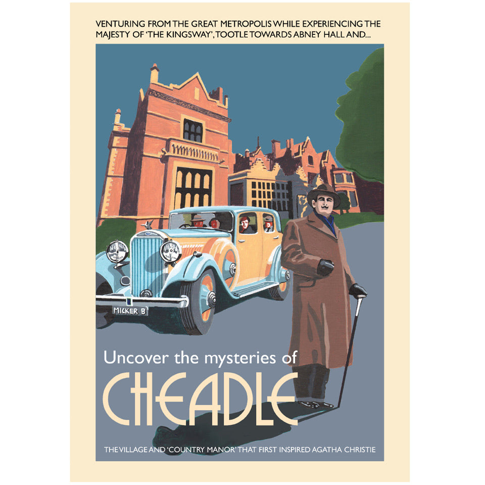 Retro Poster Art - Cheadle