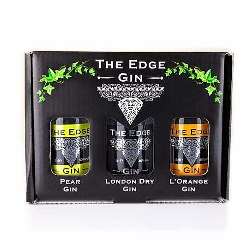 The Edge - Gift Box - Set 0f 3 Gins