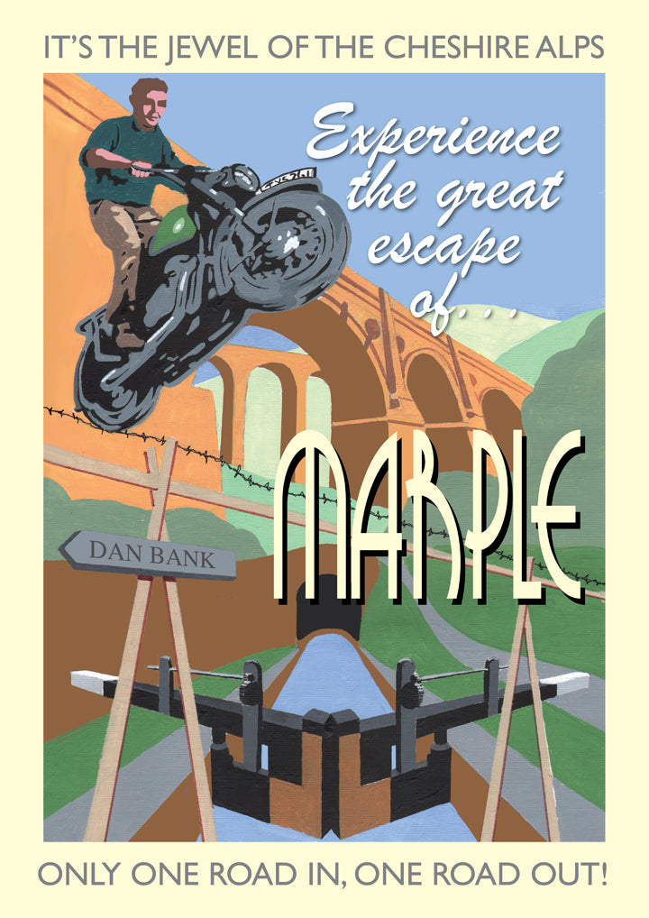 Retro Poster Art - Marple