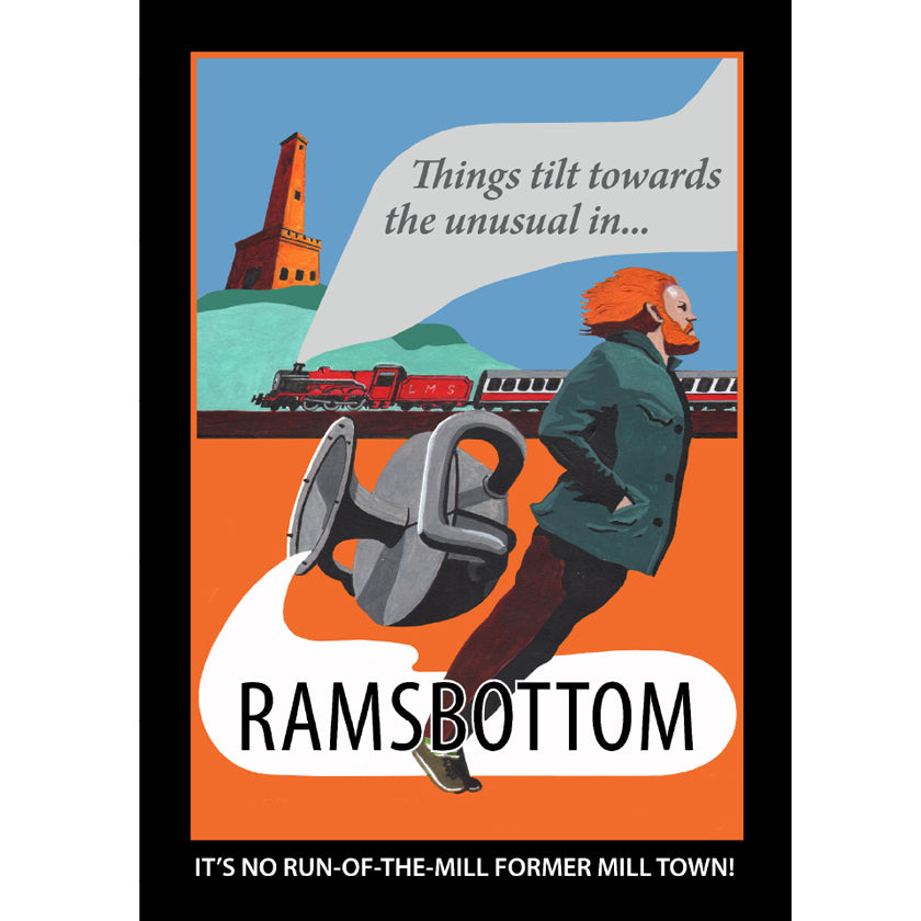Retro Poster Art - Ramsbottom