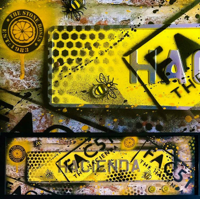 Street Sign Art - Hacienda Fac51 Yellow