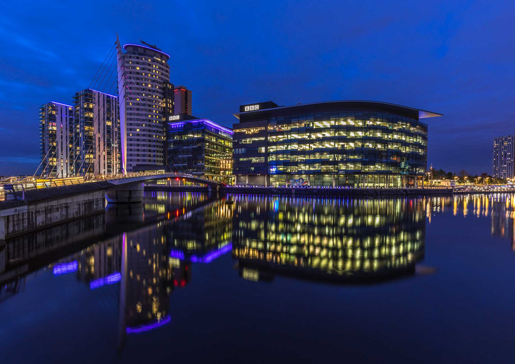 Media City Blue Hour