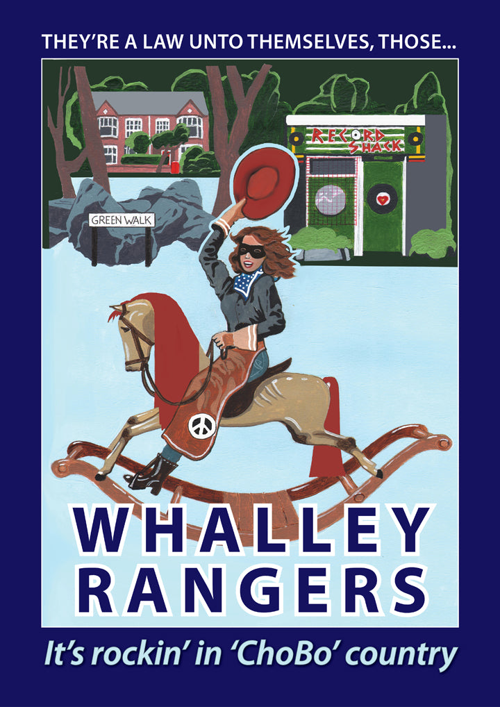 Retro Poster Art - Whalley Range