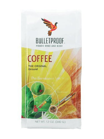 Regular Ground : Bulletproof - the Original Ground Coffee, Upgraded Coffee Upgrades Your Day (12 Ounces)