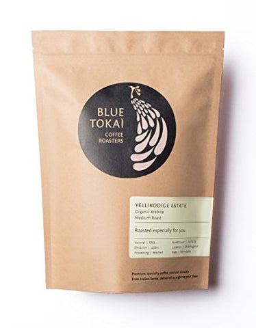 Blue Tokai Coffee Roasters Yellikodige (Organic) Estate - 250 Gm (French Press)