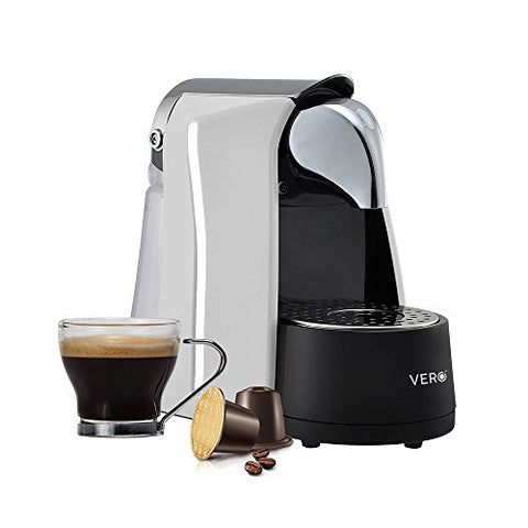 VERO Infuso (White) | Coffee Capsule Machine | Single Serve Espresso Maker | Nespresso Compatible