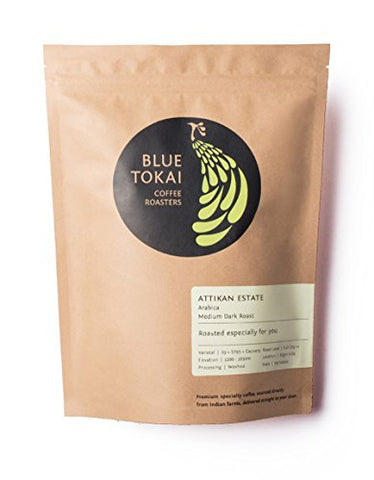Blue Tokai Coffee Roasters Attikan Estate - 250 Gm (Moka Pot)